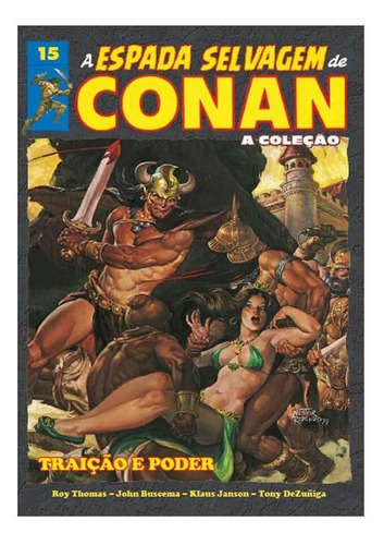 a espada selvagem de conan - volume 15 - capa dura