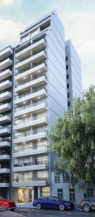 a estrenar 1 ambiente sectorizado con balcon - almagro