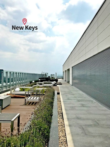 a estrenar! departamento latitud polanco, 2 rec, 2 b, 2 estac.roof garden