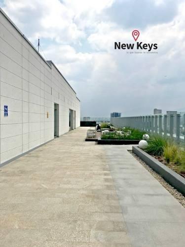 a estrenar! venta departamento latitud polanco, 2 rec, 2 b, 2 estac.roof garden