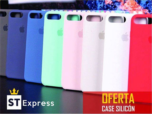 a estuche silicone case original iphone xr xs max 5 6 7 8 x