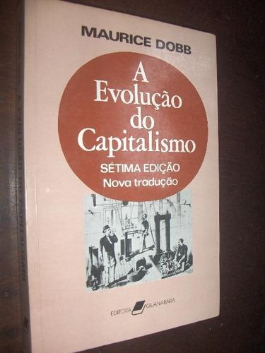 a evolução do capitalismo maurice dobb
