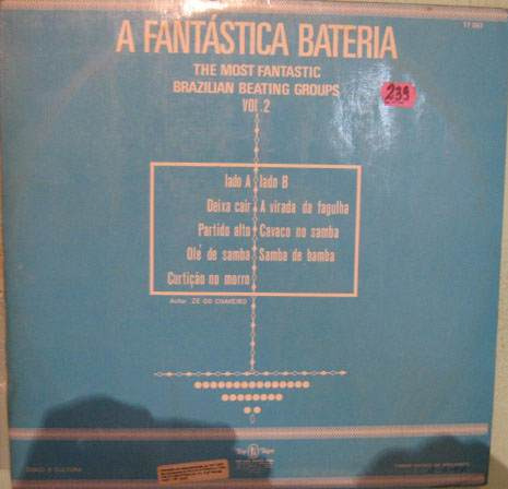 a fantástica bateria - volume 2 - 1974