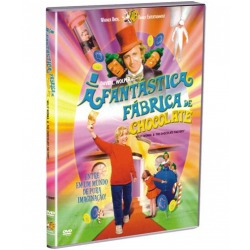a fantástica fábrica de chocolate dvd raro cult willy wonka