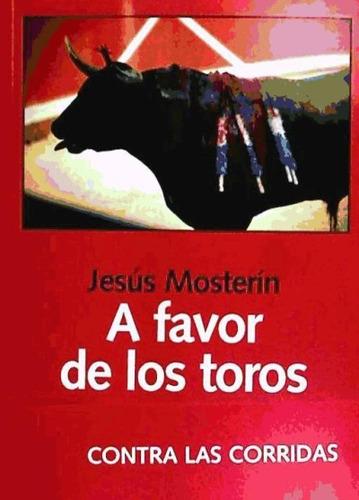 a favor de los toros(libro )