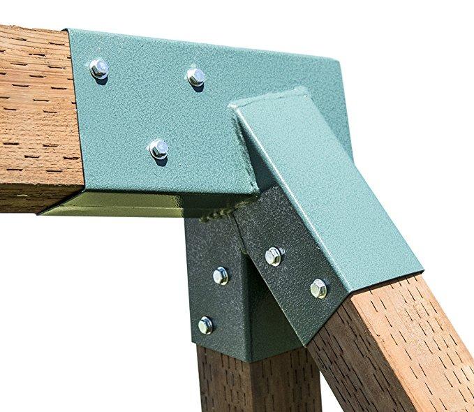 A-frame Columpio Soporte - Para 2 (4x4) Piernas Y 1 (4x6) Be ...