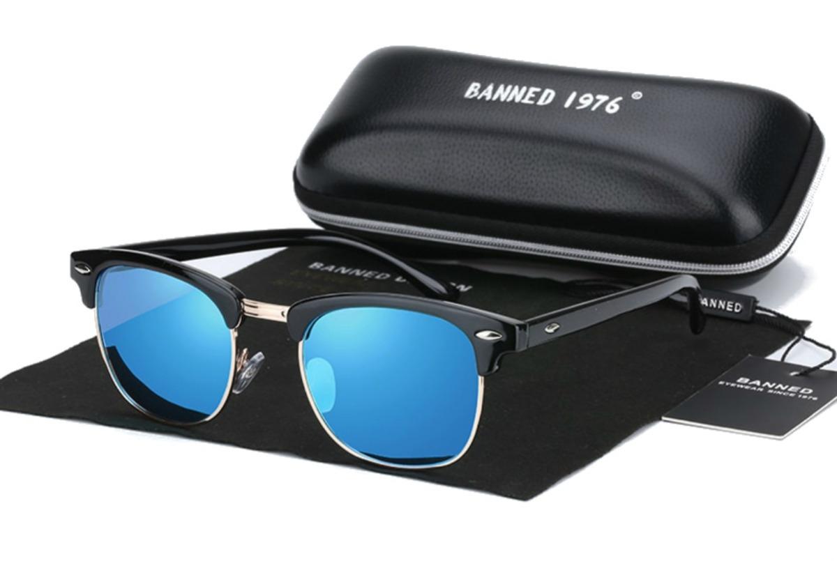 156ee7f7ae a gafas sol polarizadas uv400 banned hombre mujer master. Cargando zoom.