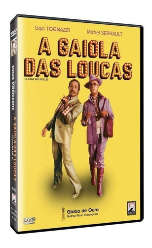 a gaiola das loucas - dvd - ugo tognazzi - michel serrault