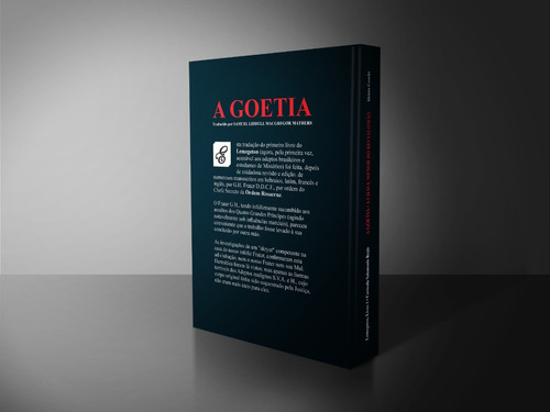 a goetia - aleister crowley - impresso / capa dura