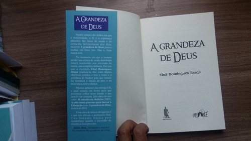 a grandeza de deus - edição bilíngue português/espanhol