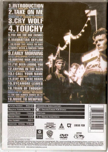 a-ha headlines and deadlines the hits of  dvd original raro