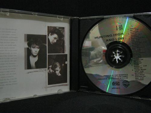 a-ha - hunting high and low  -   cd em bom estado