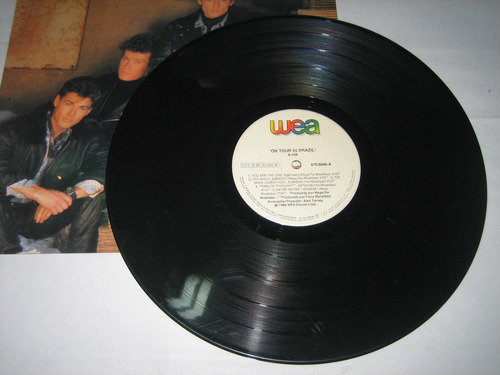 a-ha - on tour in brazil - 1989 - lp
