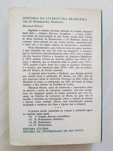 a história da literatura brasileira massaud moisés