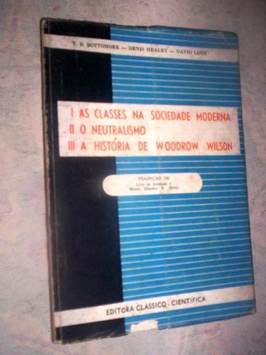 a historia de woodrow wilson o neutralismo