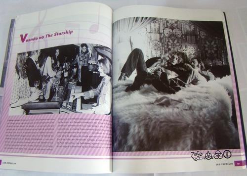 a história ilustrada led zeppelin - livro raro fora de catál