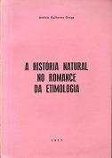 a história natural no romance da etimologia
