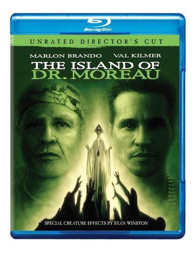 a ilha do dr moreau [blu-ray] lacrado val kilmer marlon bran