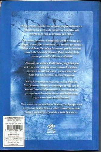 a interpretação dos sonhos scholten, max livro lacrado edito