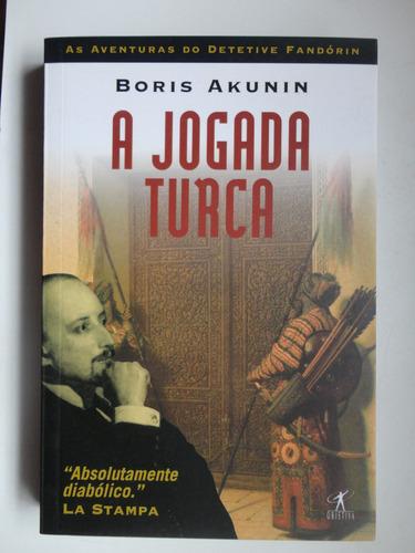 a jogada turca boris akunin  est 186