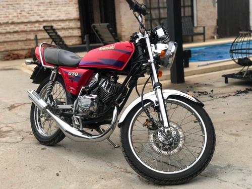 a kawasaki gto 125cc 2t el mejor del uruguay!! inmejorable!!