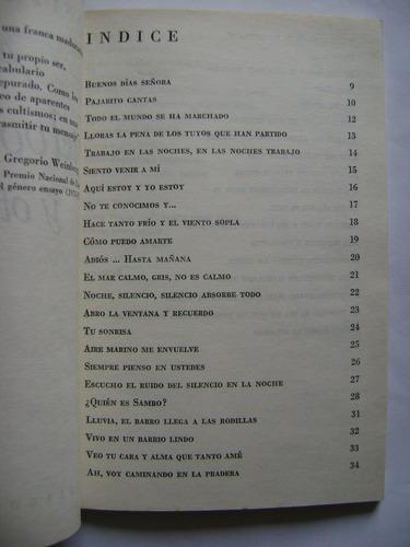 a la tierra vuelvo y otros poemas / anita frugone