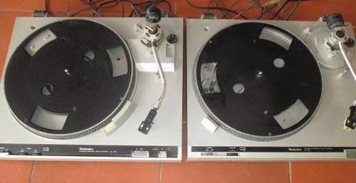 a la venta 2 platos technics  sl-200  sl-b2