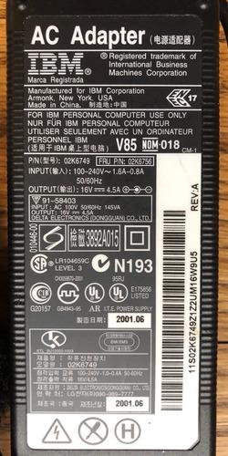 a la venta cargador de laptop lenovo ibm thinkpad nuevo