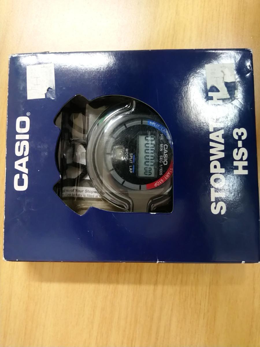 362fc19964 A La Venta Cronometro Casio Hs 3 Stopwatch 50 500 En Mercado Libre