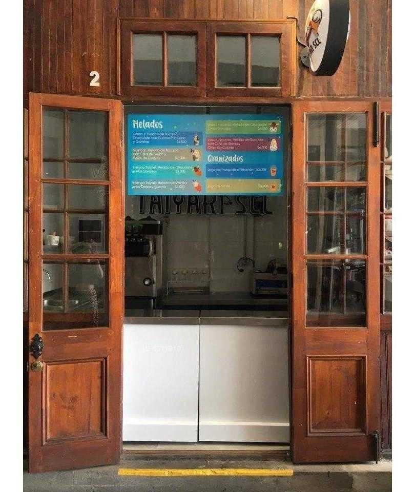 a la venta derecho de llaves heladería - patio bellavista