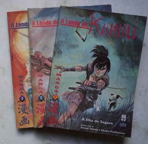 a lenda de kamui completa em 3 edições.