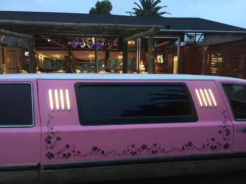 a  limusina limousina 15 años bodas eventos paseos fiestas