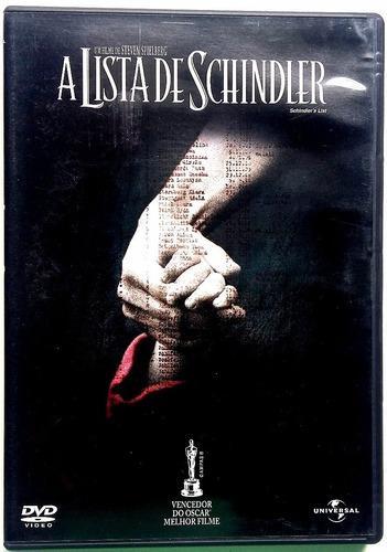 a lista de schindler - dvd original novo lacrado !!!