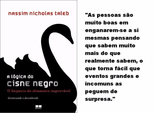 Resultado de imagem para a lógica do cisne negro
