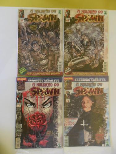 a maldição do spawn! a origem de angela! vários nºs!
