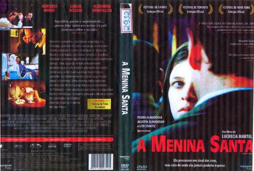 a menina santa -cinema argentino - seminovo original raro