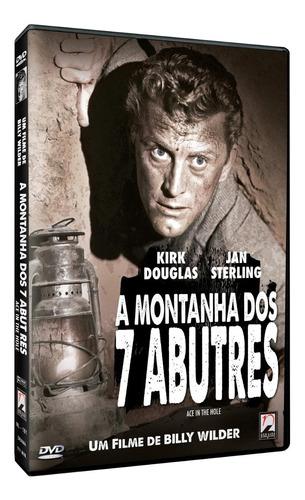 a montanha dos 7 abutres - dvd - kirk douglas - billy wilder