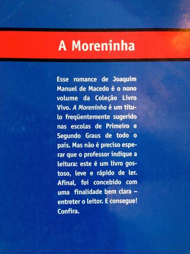 a moreninha joaquim manuel de macedo 12x s/j fr grátis c.607