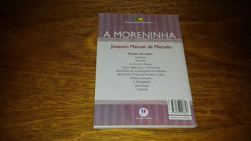 a moreninha - joaquim manuel de macedo - livro novo