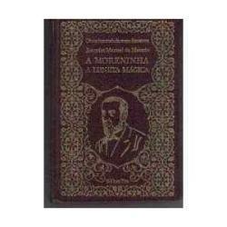 a moreninha - joaquim manuel de macedo/ livro novo capa dura