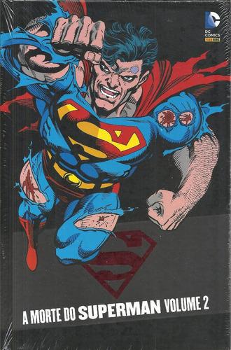 a morte do superman volume 02 - panini - bonellihq cx186