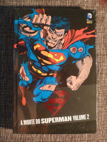 a morte do superman - volumes 01 e 02 - lacrado