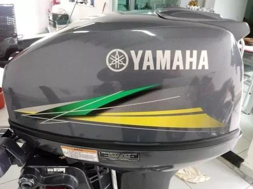 a motor de popa yamaha 15hp  okm  miami nautica - sp