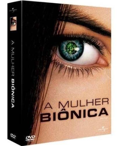 a mulher biônica 1ª temporada - box com 2 dvds - lucy hale
