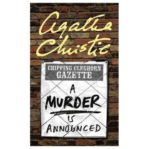 a murder is announced - agatha christie - harper collins