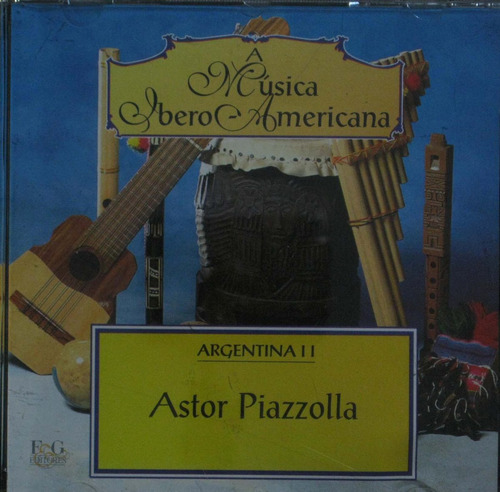 a musica ibero americana cd astor piazzolla argentina i i
