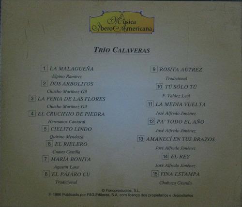 a musica ibero americana cd trio calaveras mexico i i i