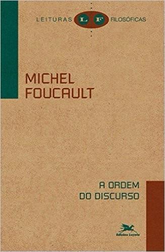 a ordem do discurso livro michel foucault - frete 8 reais