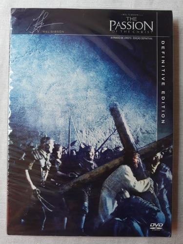 a paixão de cristo edição definitiva 2 dvds original lacrado