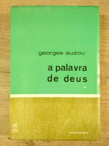 a palavra de deus georges auzou 1967